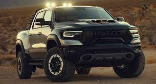 2021 Ram 1500 Trx Arrives With 702 Hp Wants To Make The Raptor Go Extinct Carscoops Trx Dodge Trucks Ram Dodge Trucks