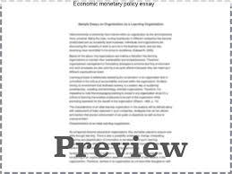 economic monetary policy essay custom paper service economic monetary policy essay 2 essay on monetary policy monetary policy and federal reserve