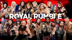 WWE Network - Royal Rumble 2020