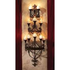 flameless candle wall sconce design candle chandelier wall sconce reviews for inspirations 4 flameless candle wall sconces with timer