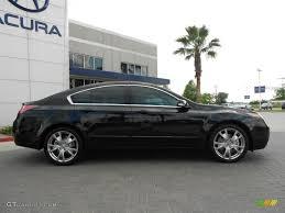 Crystal Black Pearl 2012 Acura TL 3.7 SH-AWD Advance Exterior ...
