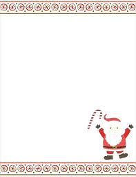 Free Letter From Santa Word Template Letter To Santa Template Printable Letter From Letter Santa