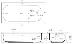 typical bathtub size gallery of standard bathtub dimensions average bathtub size litres typical bathtub size gallons