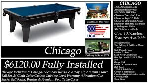 Setting Up A Pool Table Diamondback Billiards Pool Table Packages