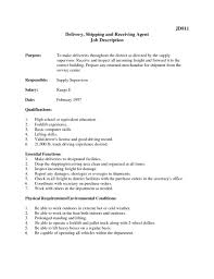 Shipping And Receiving Resume Freight Forwarder Resume Sample Receiving Customer Service 59