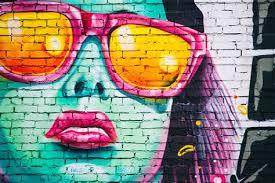 graffiti street art brick wall page 1