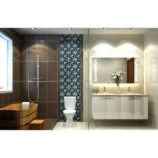 glass tile shower crystal glass tile black stainless steel with base meta mosaic bathroom wall tiles