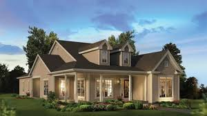 one story house plans with porch. Traditional One Story House Plans With Front And Back Porches Homes Zone On Country Porch