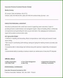 sample personal assistant resume marvelous personal assistant resume for your inspiration in 2019