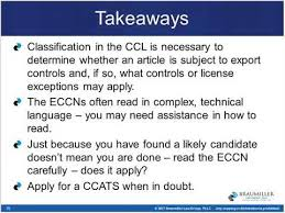 Eccn Numbers Export Gov