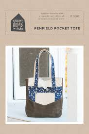 Tote Pattern Extraordinary Penfield Pocket Tote Radiant Home Studio