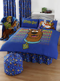 basics double duvet cover and pillowcase bedding scooby doo