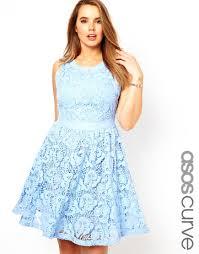 Light Blue Lace Dress Asos