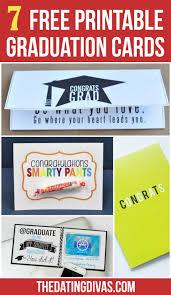 Free Printable Graduation Cards Diy Gifts 7 Free Printable Graduation Cards Love These