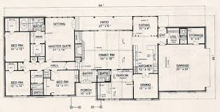 4 bedroom ranch house plans. Floor Plan 4 Bedroom Ranch House Plans O