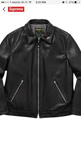 brand new supreme schott leather jacket ss17 for in oakland ca offerup