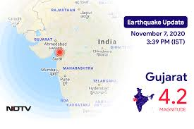 Get updated with bhukamp news always. Earthquake In Gujarat Today With Magnitude 4 2 Earthquake In India