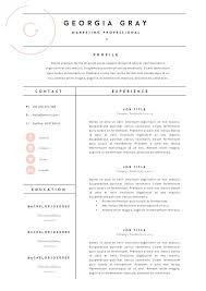Fashion Resume Templates - Outathyme.com