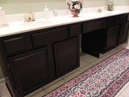Unfinished Oak Bathroom Cabinets Gel Stain Question
