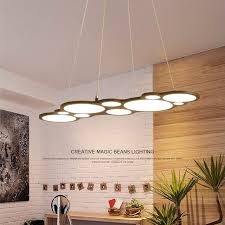 Modern Dining Room Pendant Lighting Beauteous Modern LED Chandelier Dining Room Lighting Fixtures Living Room