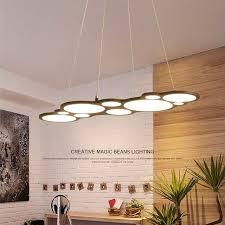 Living Room Pendant Light Delectable Modern LED Chandelier Dining Room Lighting Fixtures Living Room