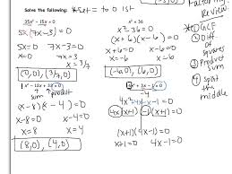 how to solve by factoring solving quadratic equation factoring