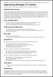 Manufacturing Engineer Resume Sample Engineering Resume Sample