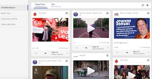 some of the top trending posts on facebook on the uk s eu referendum on 11 june 2016