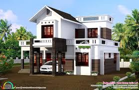 Simple Square House Design Simple 1524 Sq Ft House Plan Kerala Home Design Bloglovin