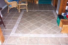 Kitchen Tile Flooring Designs Ceramic Tile Floor Care Radioritascom
