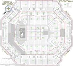 21 Comprehensive Philips Arena Seating Chart Justin Bieber