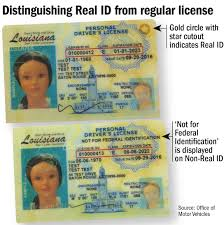 One Get Licenses; What Real Id Legislature Issuing State Begins To com How Driver's Know Theadvocate