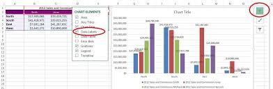 Excel Chart Label Data Points Quick Tip Excel 2013 Offers Flexible Data Labels Techrepublic