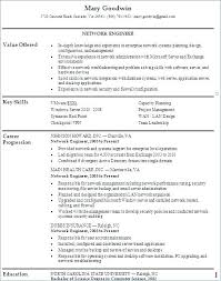 Network Engineer Resume Sample Resume For Experienced Crest Road