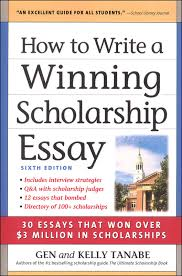 how to write a winning scholarship essay th edition  how to write a winning scholarship essay 6th edition main photo cover