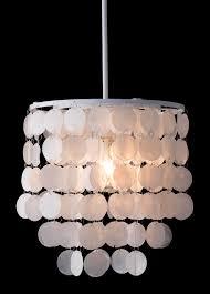 Shell Designs Shell Ceiling Lamp White Advanced Interior Designs Lighting