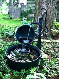 small outdoor water fountains small solar garden fountains small outdoor water fountain pumps smartness design best