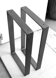 Metal Leg Set For Park Or Garden Long Wooden Bench With Back Steel Legs For Benches