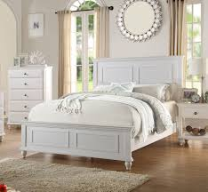 white panel bed. Plain White San Leon Coastal White Wood Panel Bed  Chic Style  In T