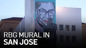 This 'new' key is not recognized by the rbg individual customization tab, and can only be lit through aura sync basic effects. Ruth Bader Ginsburg Mural Looks Over Downtown San Jose Youtube