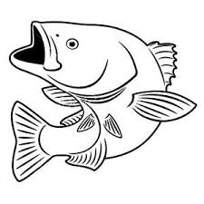 bass fish coloring pages. Delighful Coloring Fishing Target Bass Fish Coloring Pages  Best Place To Color And 0