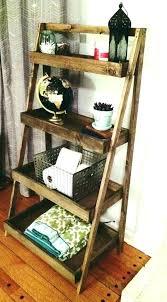 reclaimed wood ladder shelf rustic ladder bookshelf reclaimed wood ladder shelf antique ladder shelf rustic ladder