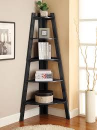 wooden bookcase furniture storage shelves shelving unit. furniture of america ladder shelf in black ac6214bk for 188 wooden bookcase storage shelves shelving unit