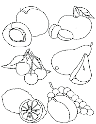 Healthy Coloring Pages Healthy Food Coloring Pages Printable Food