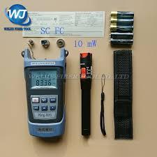 2 In 1 <b>FTTH Fiber Optic Tool</b> Kit King 60S Optical Power Meter 70 to ...