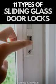 sliding glass door locks
