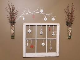 Christmas Decorations For The Wall Top Decorating Windows Thrifty Decorating Old Windows As Wall Decor