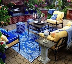 perfect yellow and blue outdoor rug rug love update your outdoor space traditional outdoor and