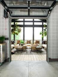 glass garage doors for houses a garage door leading from the kitchen to the screened porch