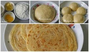 Masukkan terigu, gula, telur dan susu cair secara bertahap. Resep Roti Maryam Original Praktis Cukup 3 Bahan Saja Rotis Resep Roti Ide Makanan